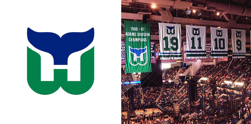 The Hartford Whalers Logo