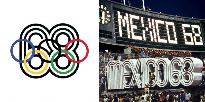 1968 Summer Olympics Logo